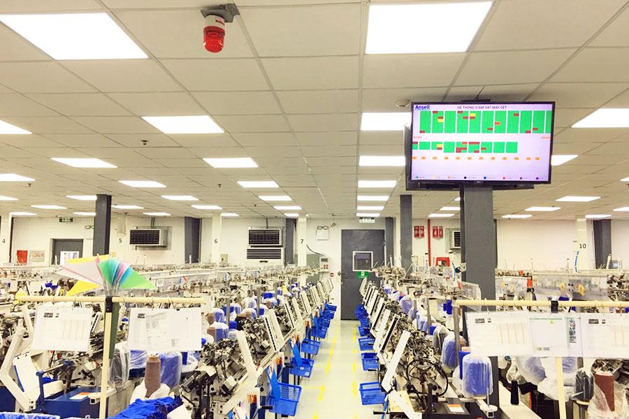 Hệ thống giám sát máy dệt