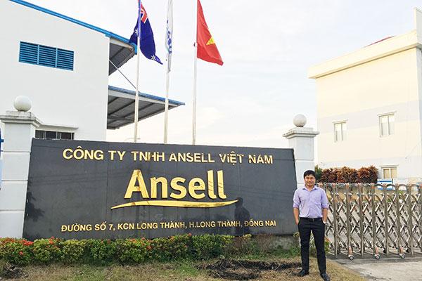 Nhà máy Ansell tại KCN Long Thành, Đồng Nai