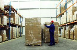 Managing and supervising production, warehousing and logistics with RFId