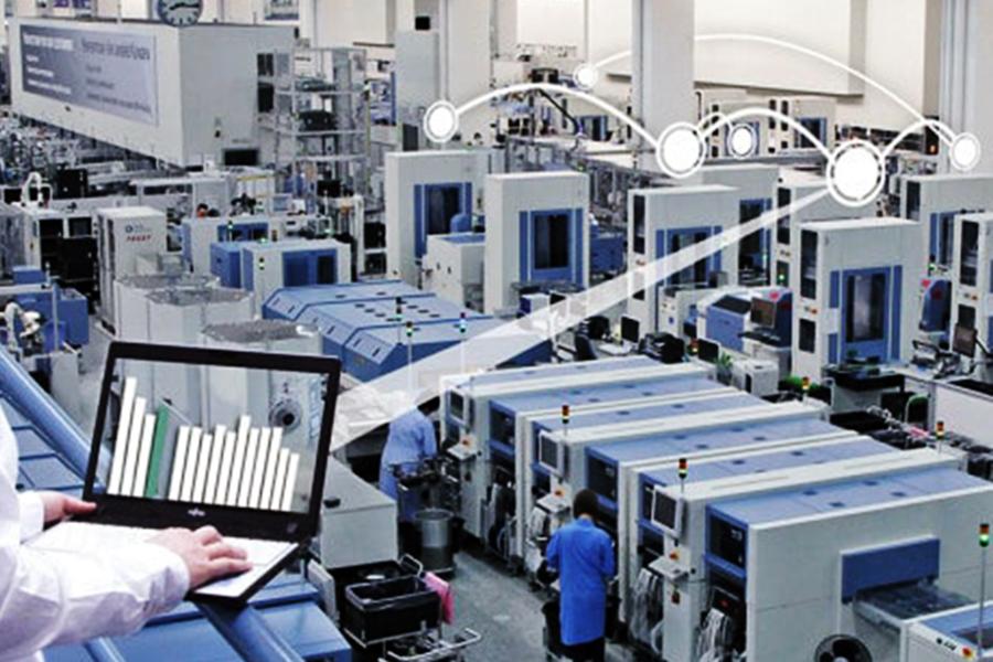 Sản xuất thông minh ngành dệt may