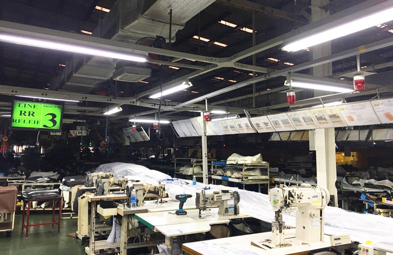 Hệ thống andon giúp trức quan hóa sản xuất