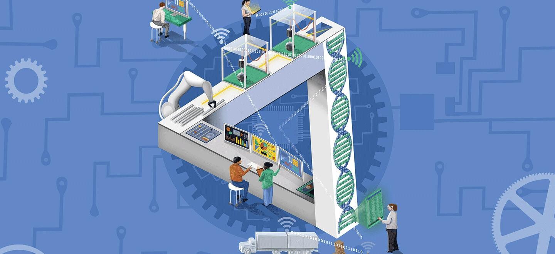 Hệ thống điều hành sản xuất MES trong nhà máy thời đại 4.0